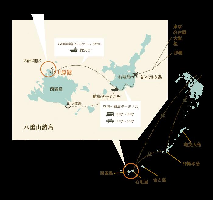 石垣島から西表島へ